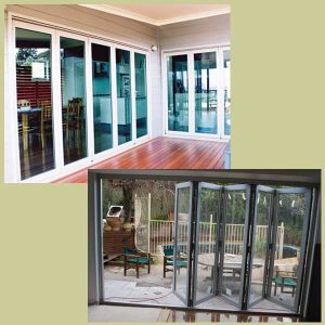 Bonds folding windows and doors