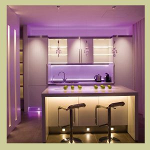 Splashback for a lavender mood