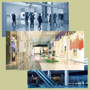 Bonds Windows and Doors for retail and shopping centers